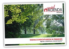 Soziale Einrichtungen in Ismaning kompakt in einer Broschüre.